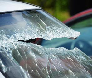 В Воронеже погоня полиции за пьяным угонщиком закончилась аварией