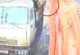 Появилось видео страшного ДТП, в котором погиб ветеран войны из Воронежа