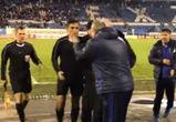 Тренер «Факела» Павел Гусев набросился на судью после матча «Факел»-«Кубань»
