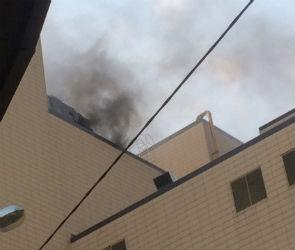 На пожаре в «Галерее Чижова» пострадала девушка