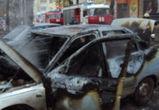 В Воронеже сгорела четвертая за сутки машина
