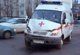 Появились фото столкновения военного грузовика со «скорой помощью» в Воронеже