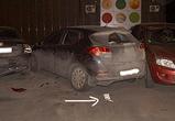 В Воронеже лихач на Фольксвагене разбил три машины и сбежал, потеряв номера