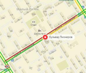 На Бульваре Пионеров из-за тройного ДТП образовалась огромная пробка