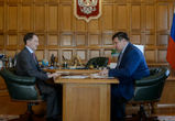 Губернатор отчитал главу департамента транспорта за пробку на Димитрова