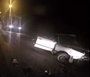 Последствия смертельного ДТП на Минской попали на видео