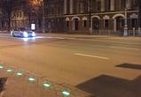 В Воронеже появился первый пешеходный переход, оборудованный светящейся плиткой