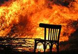 19-летний воронежец случайно сжег катер, навес и баню на 1,5 млн рублей