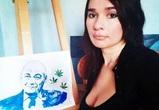 После скандального выступления в Воронеже Познера нарисовали грудью