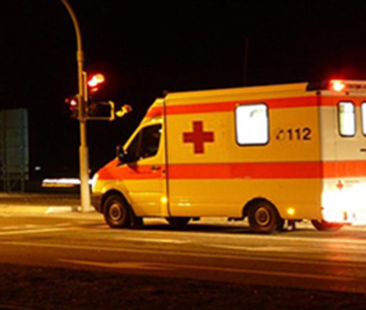 В Воронеже иномарка врезалась в «скорую»: пострадали два медработника
