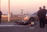 Появились фото страшного ДТП под Воронежем, где погиб байкер, врезавшись в фуру