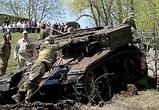 Появились фото американского танка времен войны, поднятого из реки под Воронежем