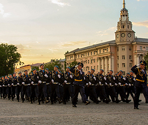 Опубликованы фото и видео генеральной репетиции Парада Победы в Воронеже