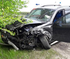 Виновник столкновения пяти машин под Воронежем сбежал, бросив автомобиль