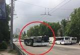 В Воронеже пассажиры стали «заложниками» двух не поделивших дорогу маршрутчиков