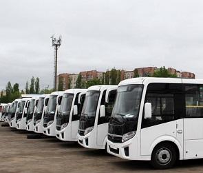 На воронежский маршрут №105 вышли новые автобусы