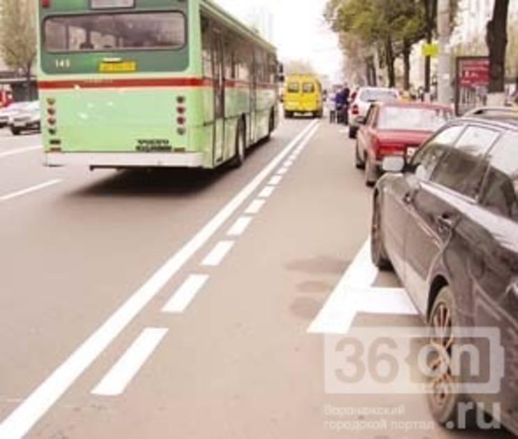 Власти объяснили, почему Воронежу не нужны выделенные полосы для автобусов