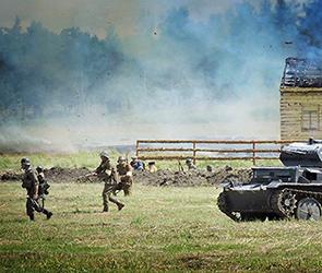 Опубликованы фото воронежской реконструкции сражения 1944 года за Крым