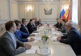 Алексей Гордеев встретился с послом Ирландии
