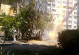 Из-за пожара на газопроводе без горячей воды остался целый жилой квартал