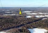 Воронежский экстремал опубликовал видео прогулки по тросу на 300-метровой высоте