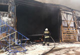 Серьезный пожар на улице Дорожной ликвидирован