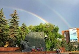 Воронежцы выкладывают в Сеть фотографии двойной радуги