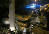 Четыре человека пострадали в ночной аварии на улице Донской в Воронеже