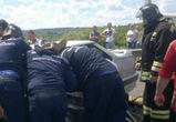Под Воронежем семья с двумя маленькими детьми разбилась в аварии