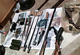 Появилось видео задержания воронежских «черных копателей» с арсеналами оружия