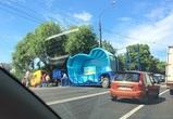 В Воронеже бассейн спровоцировал пробку: появились фото