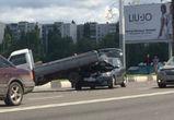 Движение по Чернавскому мосту парализовано из-за аварии