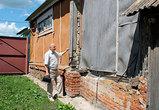 Ветеран ВОВ в Хохле добивается от властей ремонта своего частного дома