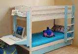Деревянная кровать – идеальный выбор для обустройства детской комнаты