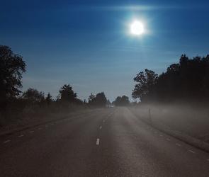 В Воронежской области машина переехала мужчину, лежащего посреди трассы