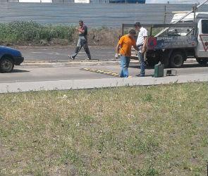 После двух ДТП с детьми в ЖК «Озерки» появились «лежачие полицейские» и забор