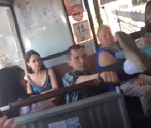 В Воронеже накажут мужчину с собакой, устроившего дебош в автобусе