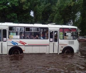 Воронеж затопило: появились фото и видео последствий непогоды