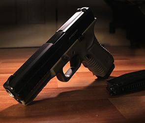 На воронежском посту ДПС задержан водитель Фольксвагена с оружием и боеприпасами