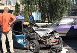 Воронежцы публикуют фото массовой аварии, спровоцировавшей пробку на Ворошилова