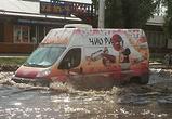 Воронежцы публикуют фото затопленной ливнем улицы Новосибирской - «Венецианской»