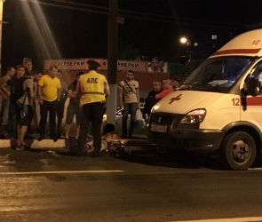 На улице Остужева в Воронеже «Мазда» сбила пешехода