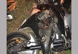 Появились фото ДТП в Воронеже: мотоциклист тяжело пострадал, протаранив дерево