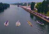 В Сети появилось захватывающее видео «Петровской регаты» в Воронеже