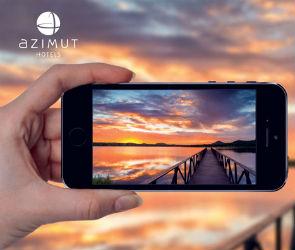 Последний месяц лета станет самым солнечным вместе с Azimut Hotels