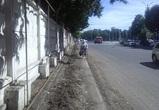 На площади Ленина убрали пешеходный проход