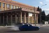 Воронежца, устроившего дрифт у ВГУ, нашли и оштрафовали