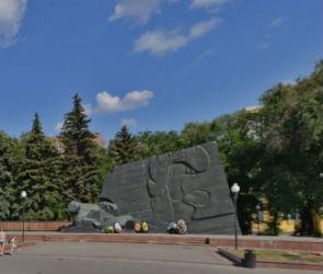 В воскресенье в Воронеже запретят парковку у Памятника Славы