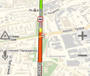 Из-за ДТП оказалось парализовано движение на Московском проспекте
