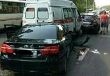 Стали известны подробности массовой аварии со «скорой» на Минской в Воронеже